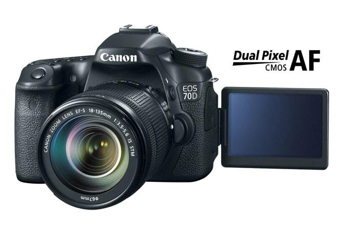Camera Canon EOS 70D