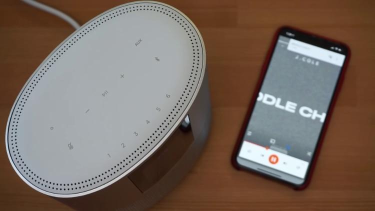 Bose Home Speaker 500 Button