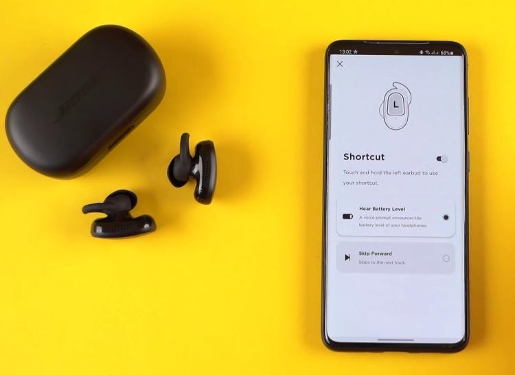 Bose QuietComfort Earbuds App