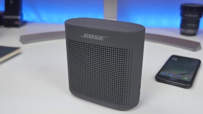 Bose SoundLink Color II Close up