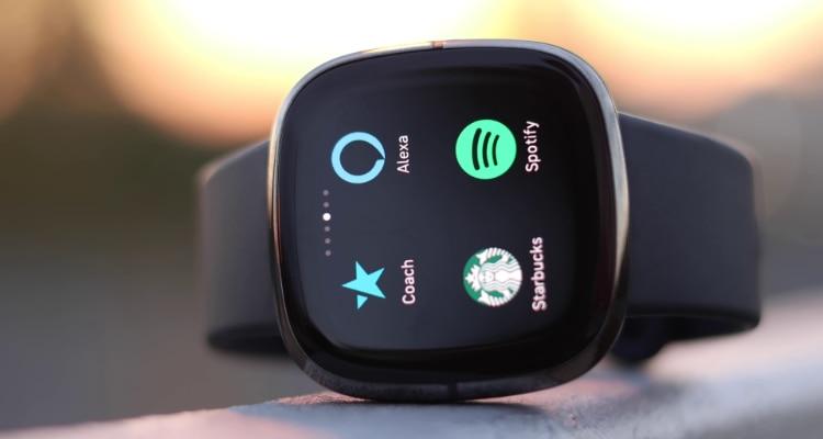Fitbit Sense Close up