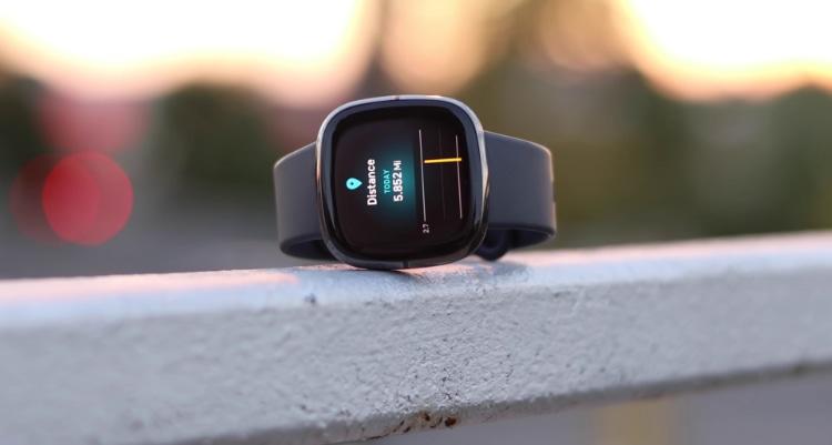 Fitbit Sense Distance