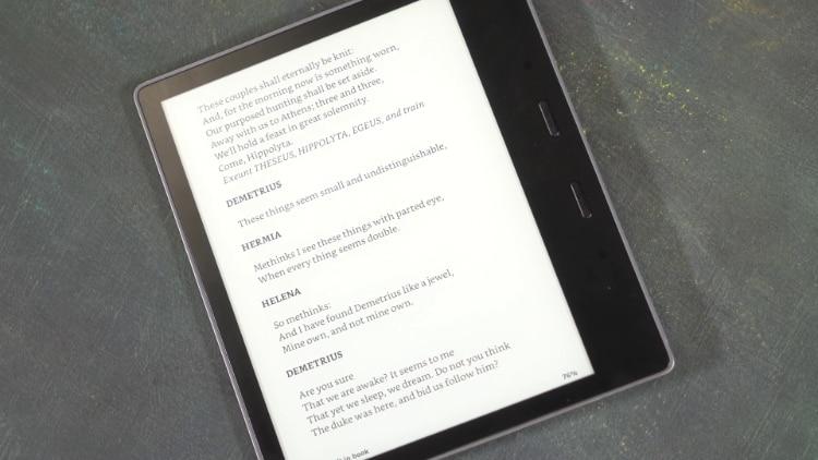 Kindle Oasis Design