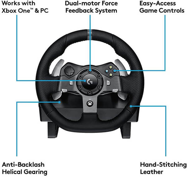 Logitech G920 Features