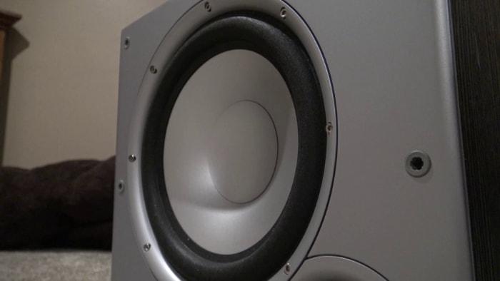 Polk Audio PSW10 Close-up