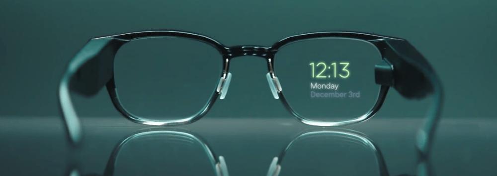 Black Smart Glasses