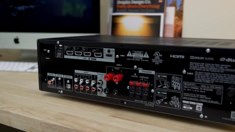 Sony STR-DH590 Back