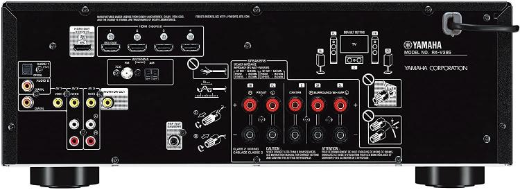 Yamaha RX-V385 Input