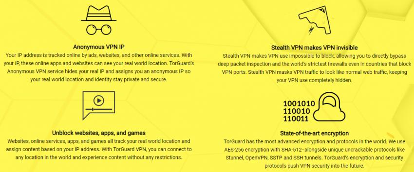 Torguard VPN Feature